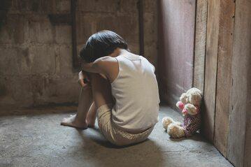Ofiara przemocy, zdjęcie ilustracyjne