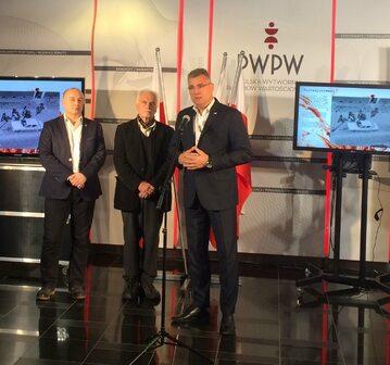 Oficjalne otwarcie wystawy w PWPW