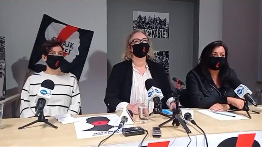 Ogłoszenie postulatów Ogólnopolskiego Strajku Kobiet