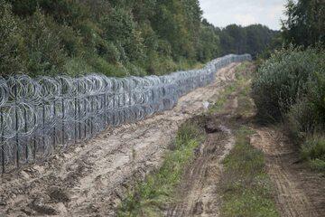 Ogrodzenie na polsko-białoruskiej granicy, zdj. ilustracyjne