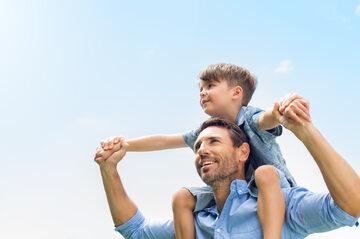 Ojciec i syn, zdjęcie ilustracyjne