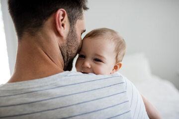 Ojciec z dzieckiem