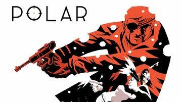 """Okładka komiksu """"Polar"""""""