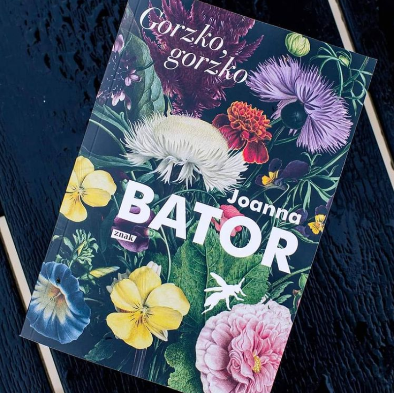 Okładka książki Joanny Bator