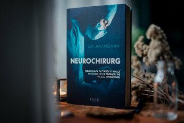 "Okładka książki ""Neurochirurg"""
