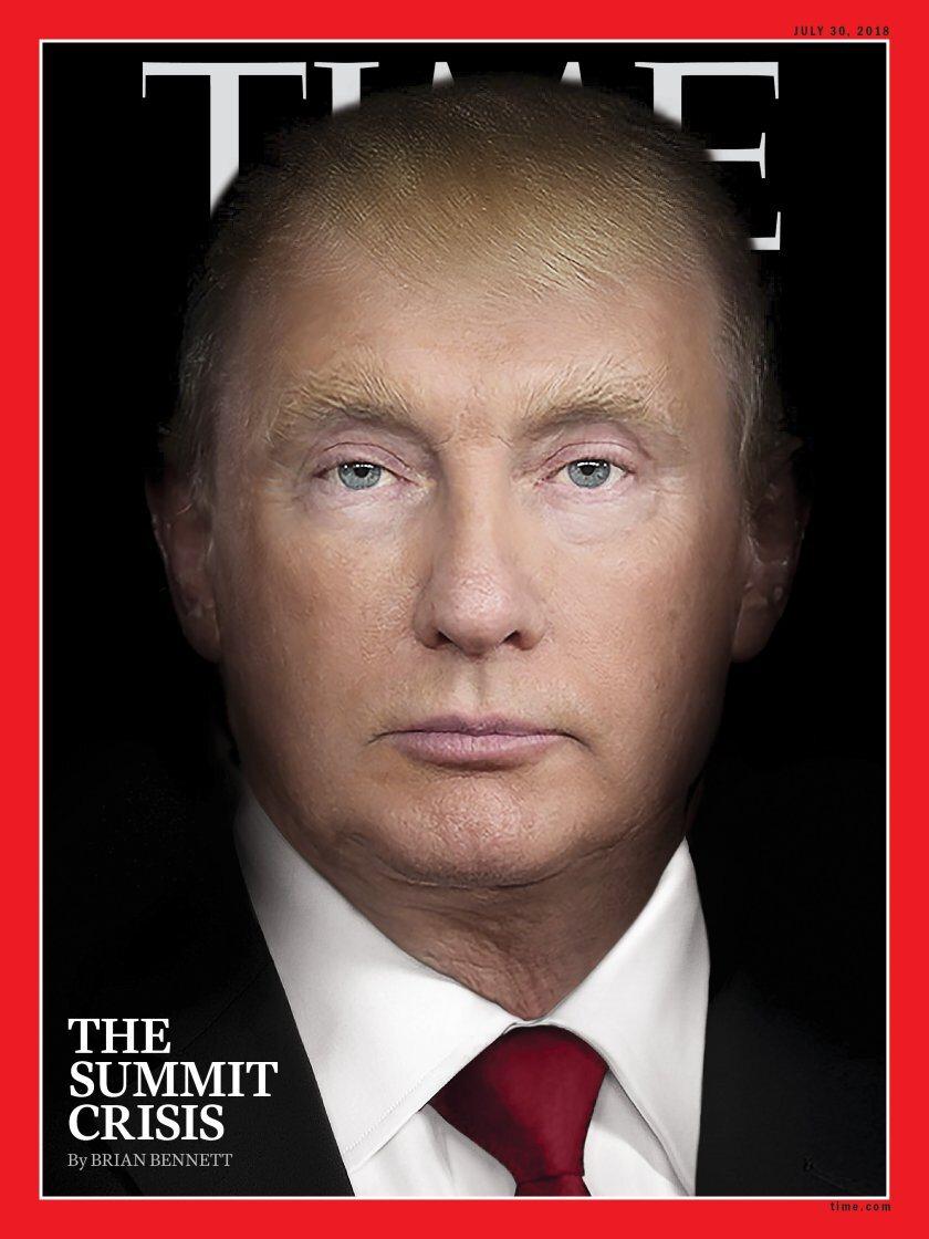 "Okładka magazynu ""Time"""