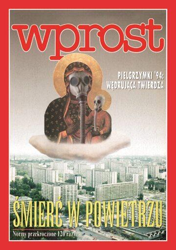 """Okładka tygodnika """"Wprost"""" z 1994 roku"""