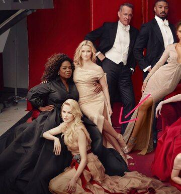 """Okładka """"Vanity Fair"""""""