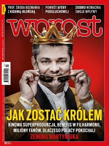 """Okładka """"Wprost"""" 7/2020"""
