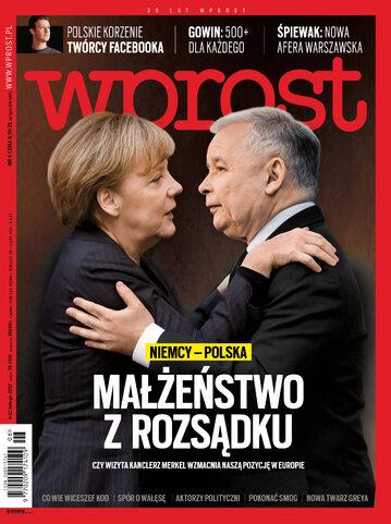 """Okładka """"Wprost"""", nr 6/2017"""