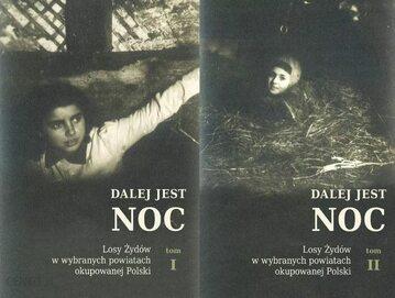 """Okładki dwóch tomów """"Dalej jest noc"""""""