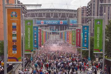 Okolice stadionu Wembley
