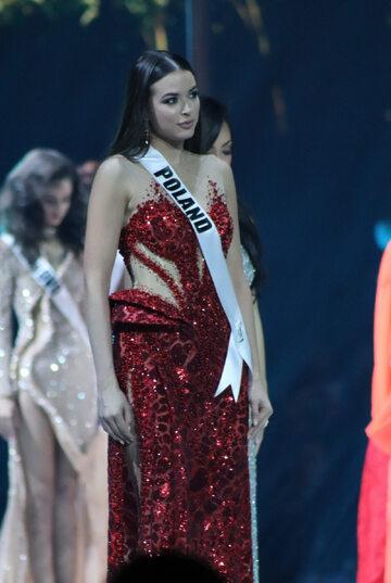 Olga Buława wzięła udział w konkursie Miss Universe