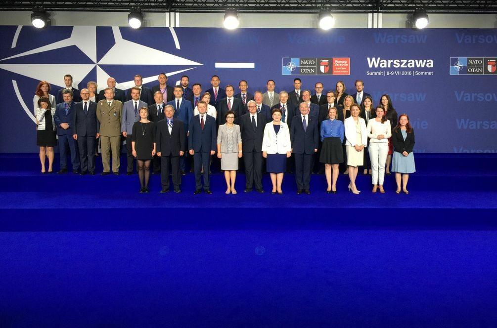 Organizatorzy szczytu NATO na podsumowaniu
