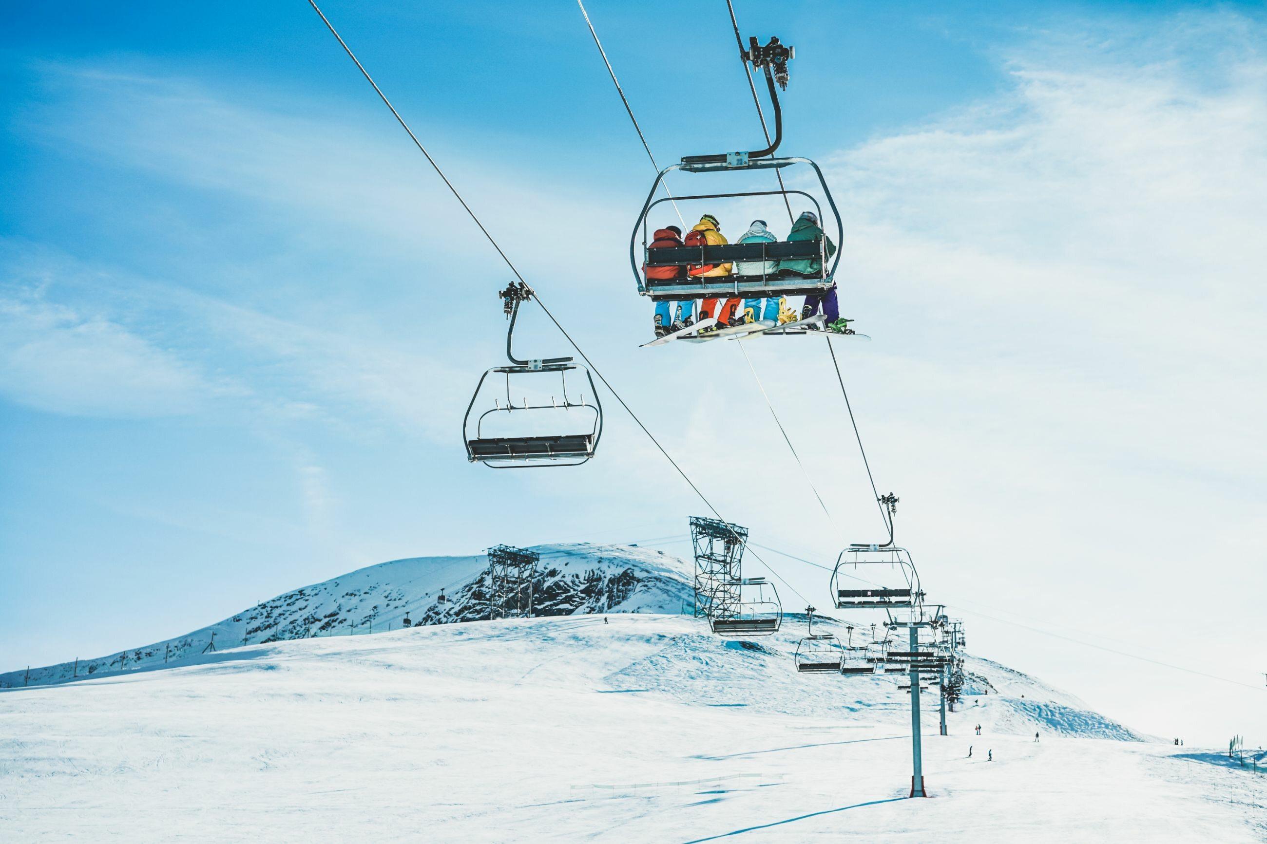 Ośrodek narciarski, zdjęcie ilustracyjne