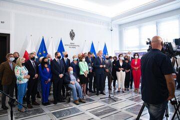 Oświadczenie 51 senatorów ws. obecności Polski w Unii Europejskiej