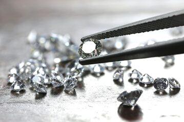 Oszlifowany diament, czyli brylant