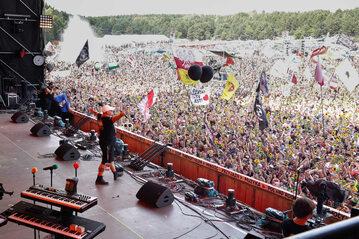 Otwarcie festiwalu Pol'and'Rock. 1 sierpnia 2019 r.