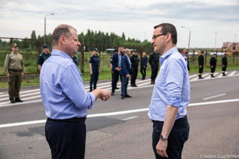 Otwarcie granicy polsko-litewskiej