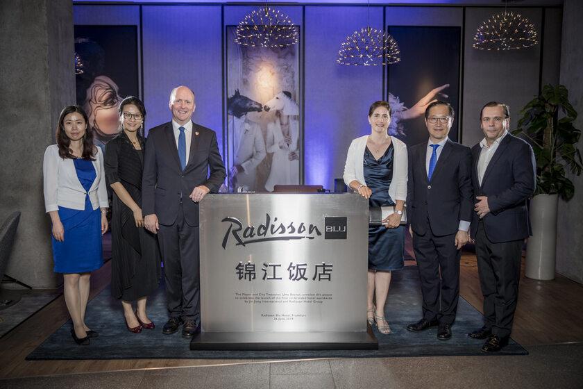 otwarcie hotelu Radisson Blue we Frankfurcie