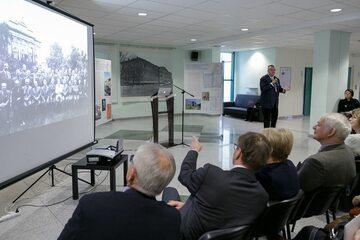 Otwarcie wystawy poświęconej prof. Mściwojowi Seremeau-Siemianowskiemu