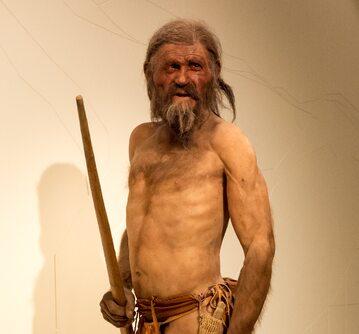 Otzi, znany również jako 'człowiek lodu'