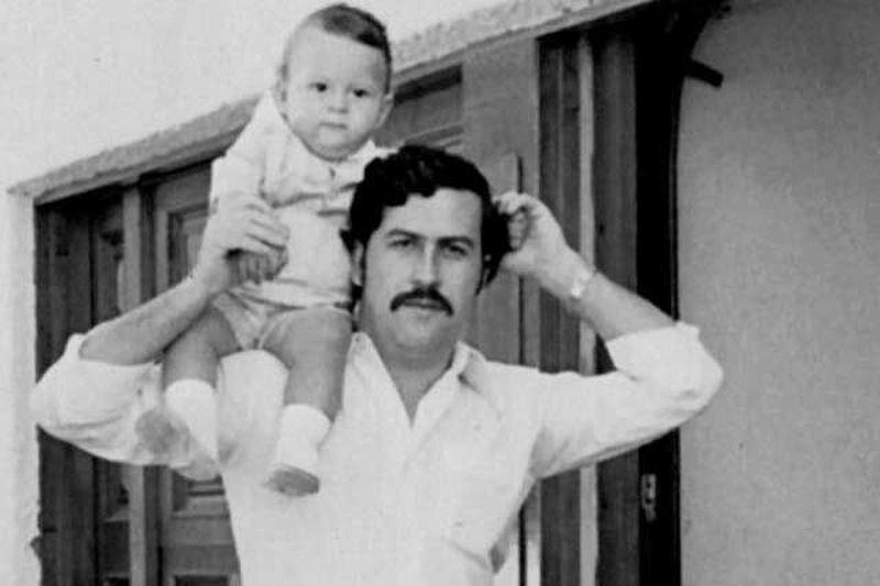 Pablo Escobar z synem