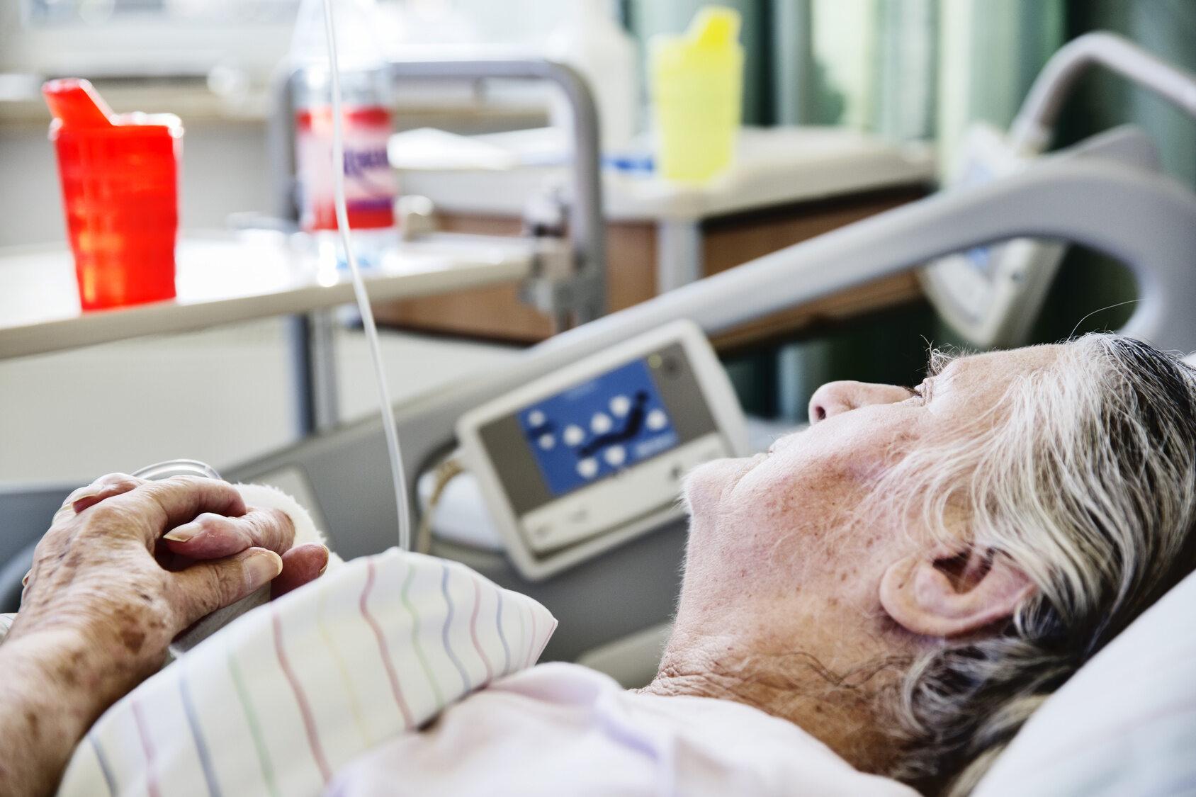 Pacjentka hospicjum (zdj. ilustracyjne)