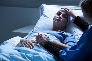 Pacjentka w szpitalu, zdjęcie ilustracyjne