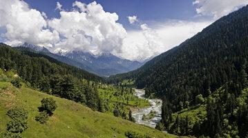 Pahalgam Valley, Kaszmir