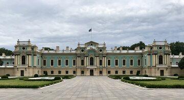 Pałac Maryński w Kijowie, siedziba prezydenta Ukrainy