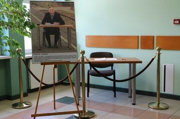 Pamiątkowa instalacja w Starostwie Powiatowym w Końskich