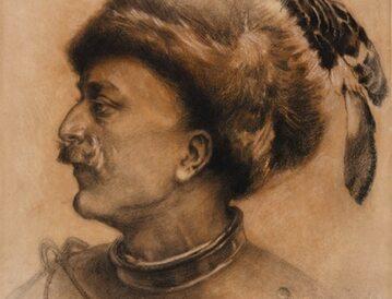 Pan Wołodyjowski na rysunku Piotra Stachiewicza