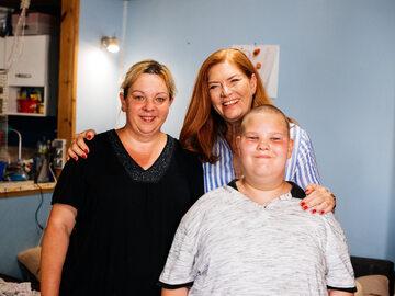 Pani Sylwia, Kuba i Katarzyna Dowbor