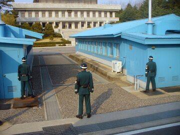 Panmundżom, budynek południowokoreański