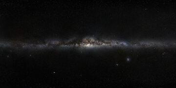 """""""Panorama"""" Drogi Mlecznej widzianej z Ziemi (ESO)"""