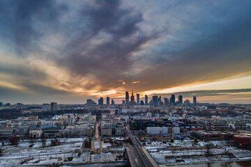 Panorama Warszawy, zdjęcie ilustracyjne