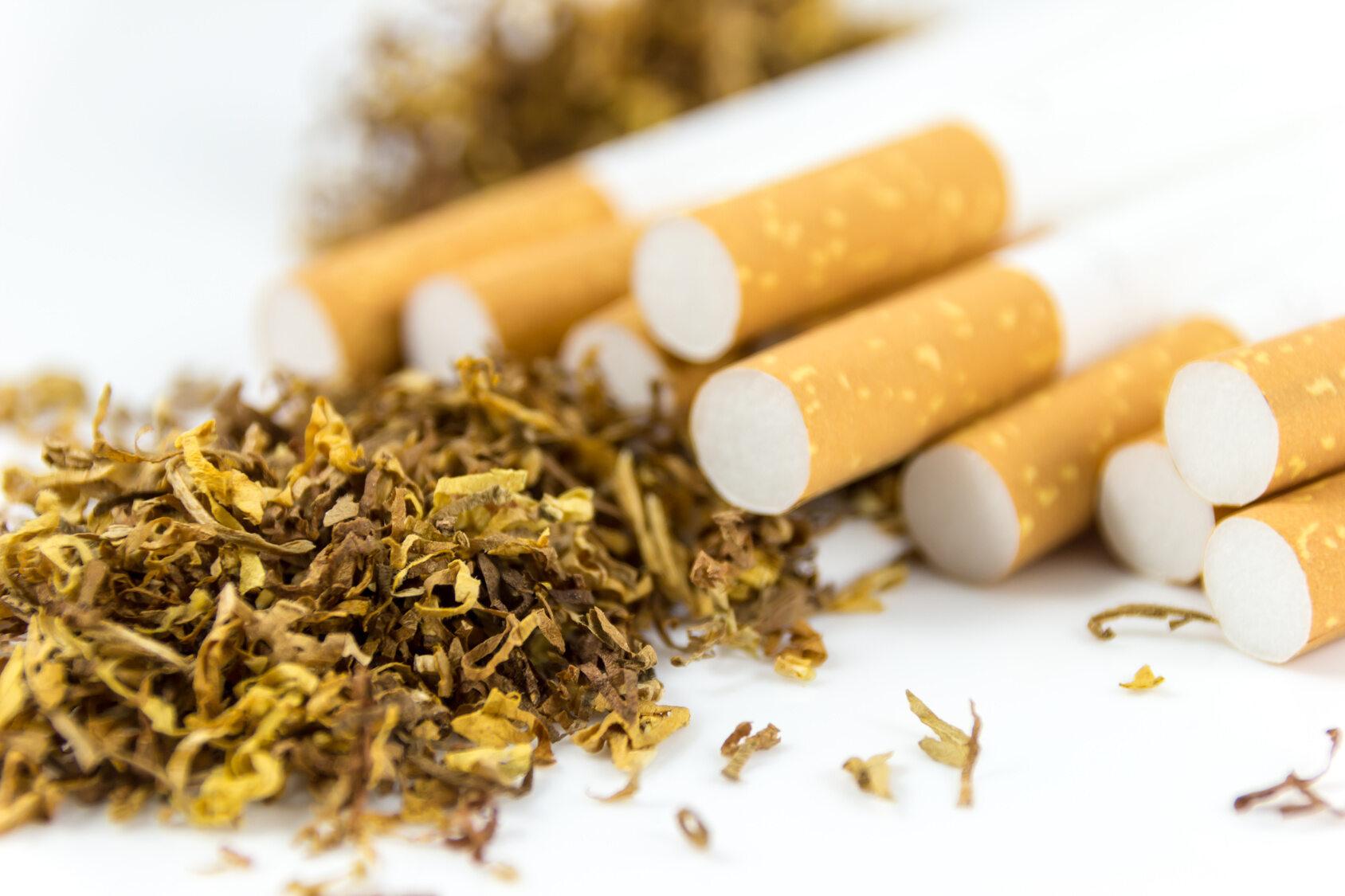 Papierosy, tytoń