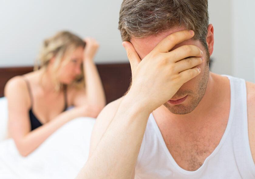 Para, która ma problemy z życiem seksualnym, zdjęcie ilustracyjne