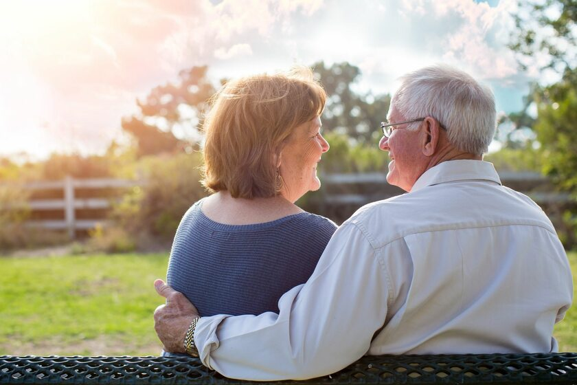 Para osób w starszym wieku