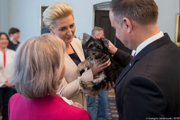 Para prezydencka i pani Teresa