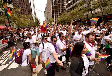 Parada równości w San Francisco