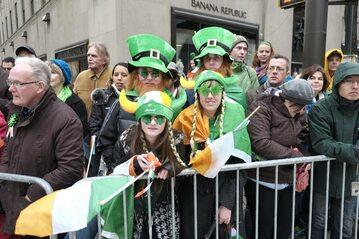 Parada Świętego Patryka na Manhattanie w 2013 roku