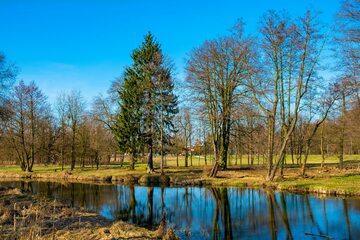 Park Zdrojowy w Konstancinie-Jeziornie, zdj. ilustracyjne