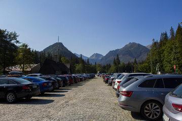 Parking w Tatrach