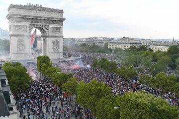 Paryż w czasie finału MŚ