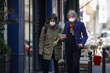 Paryż w czasie koronawirusa