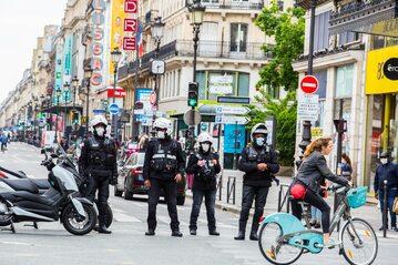Paryż w dobie pandemii koronawirusa