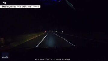 Pasażerowie auta cudem uniknęli śmierci