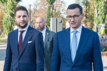 Patryk Jaki i Mateusz Morawiecki